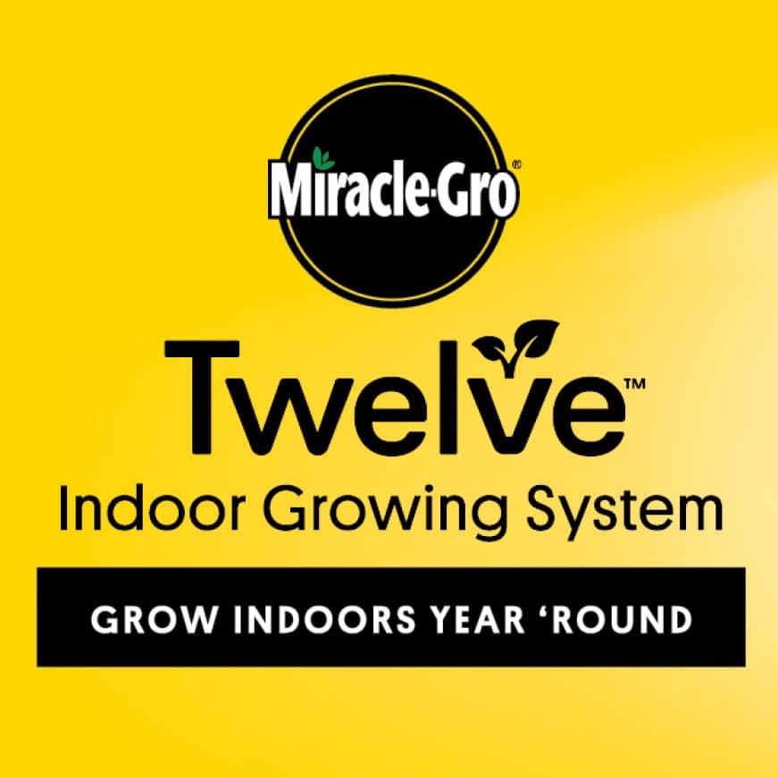 Miracle-Gro Twelve Indoor Growing System, Grow Indoors Year 'Round