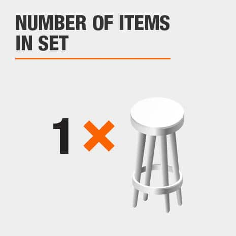 1 piece stool set