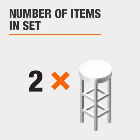 2 piece stool set