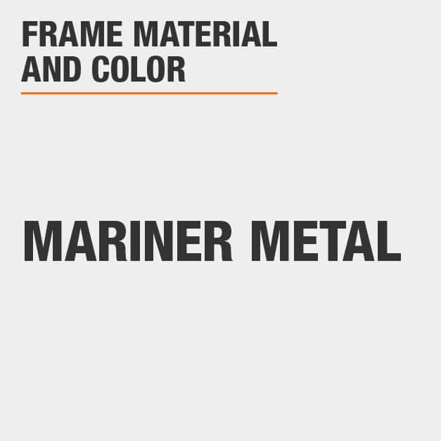 Counter Stool with Mariner Metal Frame