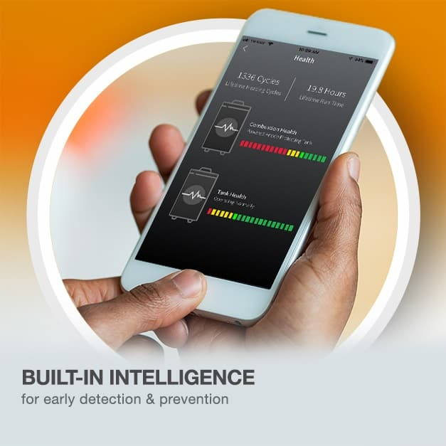 Eliminate the emergency with built in intelligence for early leak detection and prevention.