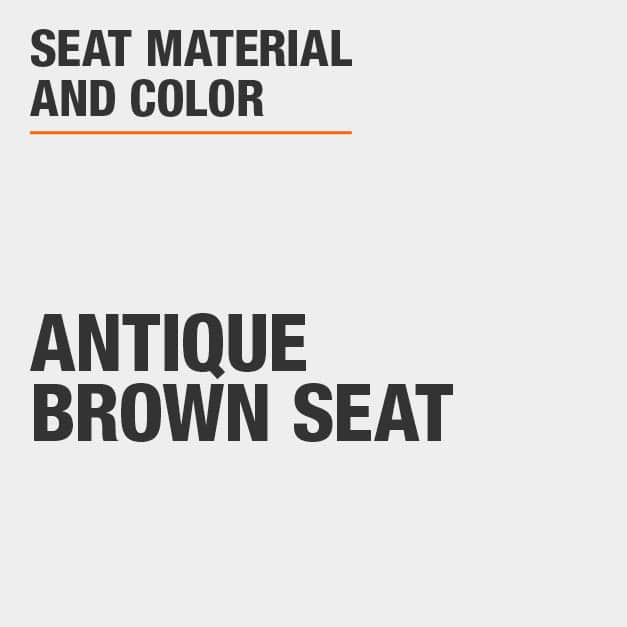 Collection with Antique Brown Seat