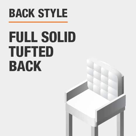 Back Style Full Solid Tufted Back