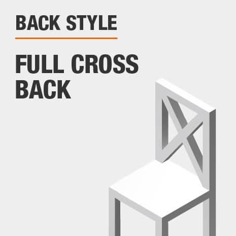 Back Style Full Cross Back