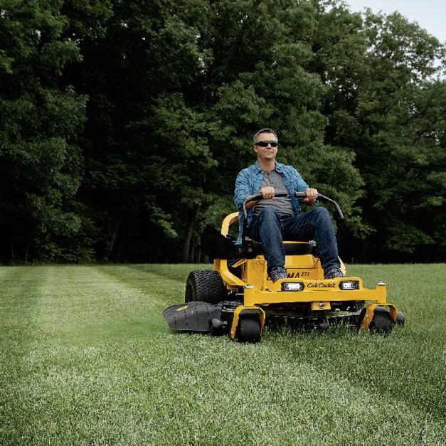 lawn mower, tractor, rider, Cub Cadet