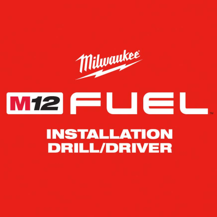 The M12 FUEL Installation Drill/Driver features four dedicated solutions, delivering unrivaled access and control in a compact drill/driver