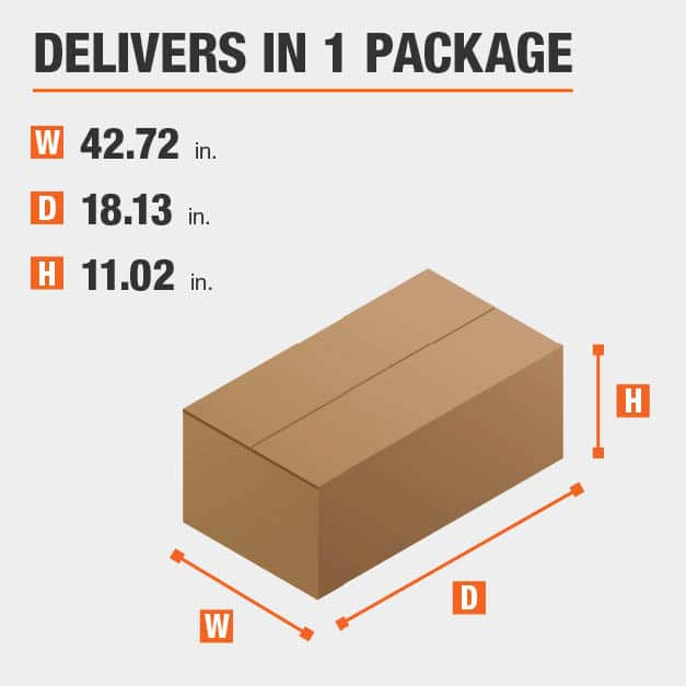 Package Dimensions 42.72 inches wide 11.02 inches high