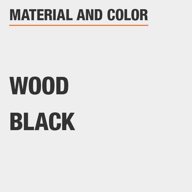 Black Wood Coffee Table