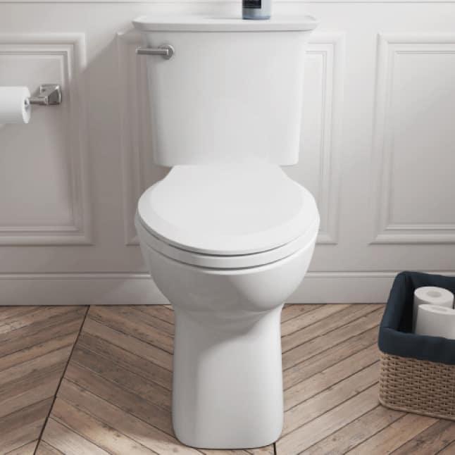 High-Efficiency Cadet Ovation Toilet