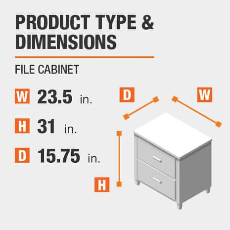 File Cabinet Product Dimensions 23.5 inches wide 31 inches high