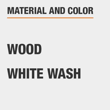 White Wash Wood Secretary Desk