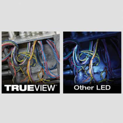 450 Lumens of TRUEVIEW High Definition Output