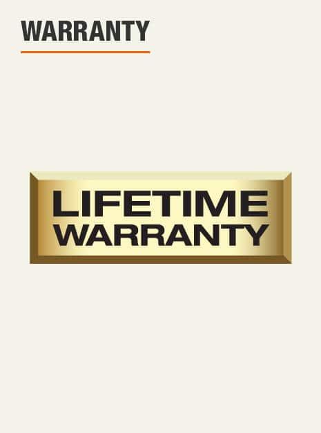 backed by Husky's lifetime warranty