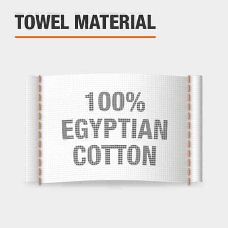 100% Egyptian Cotton Bath Towels