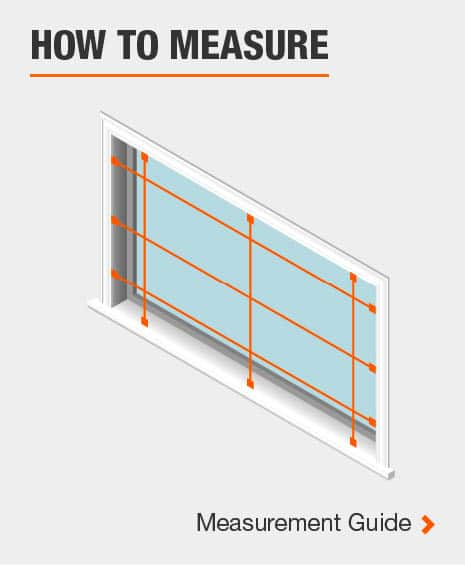 How to measure your window