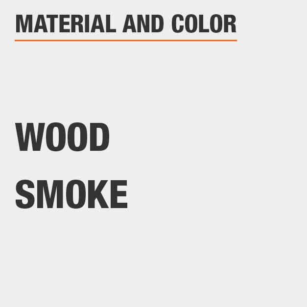 Smoke Wood TV Stand