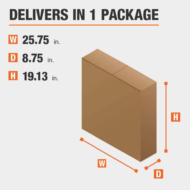 Package Dimensions 25.75 inches wide 19.125 inches high