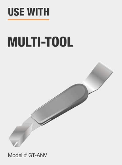 install glazier points with our 2-in-1 Glazing Tool