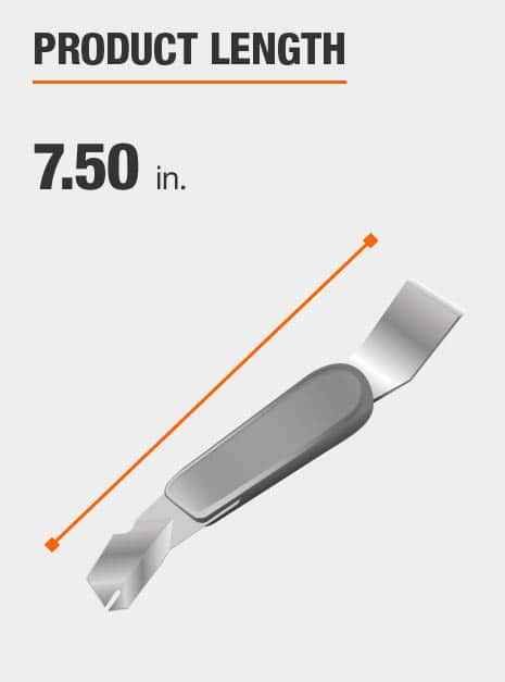 7 1/2 inch length