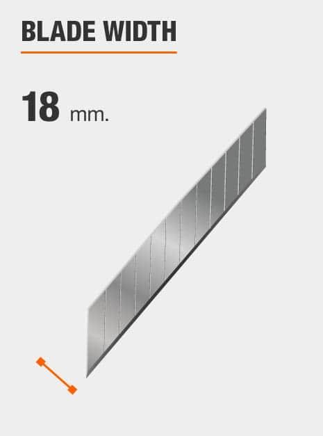 blade width 18 mm