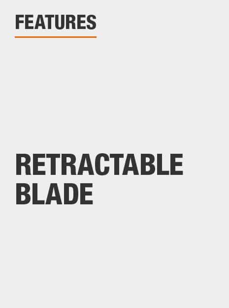 retractable blade