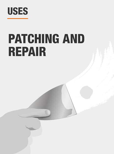 use for spreading spackle, joint compound or filler for patching