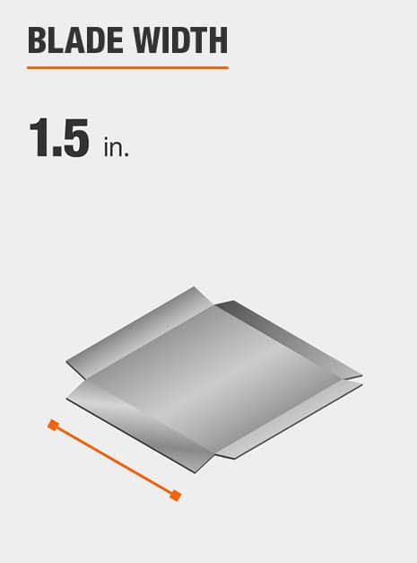Blade width is 1.5 inches.