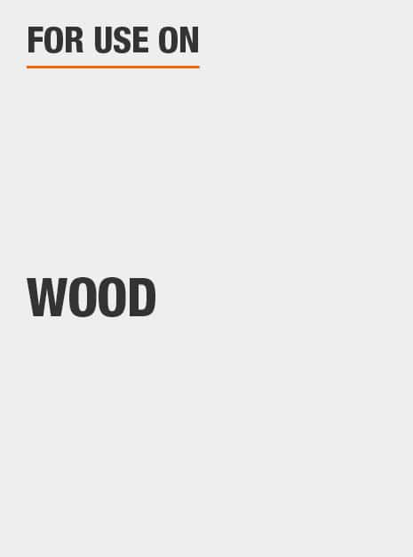 For use on wood.