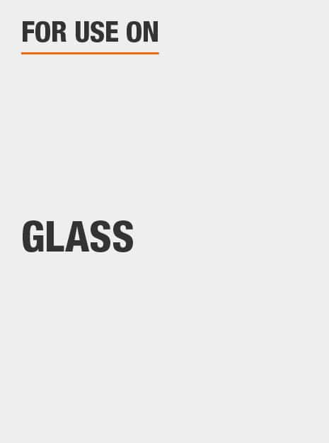 for use on glass