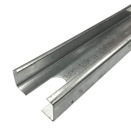This is an image of a steel stud material application.