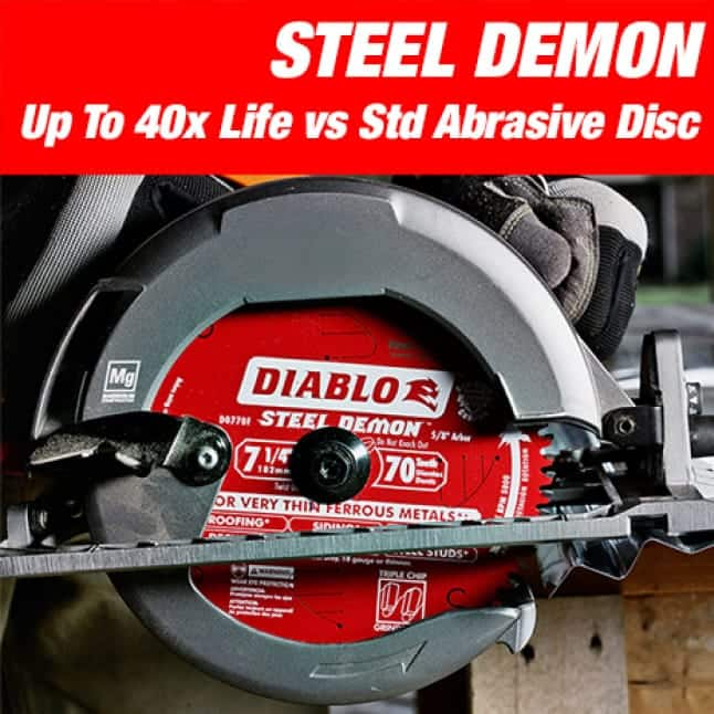 This is an image of a Diablo steel demon saw blade.