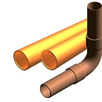 This is an image of copper and brass material application.