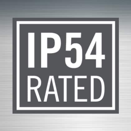IP54 Rated
