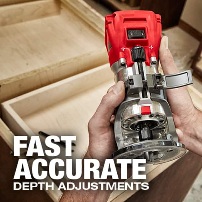 Fast accurate adjustments reduce slop