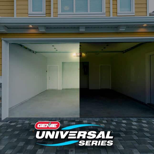 Genie garage door opener LED light bulb 4000k color
