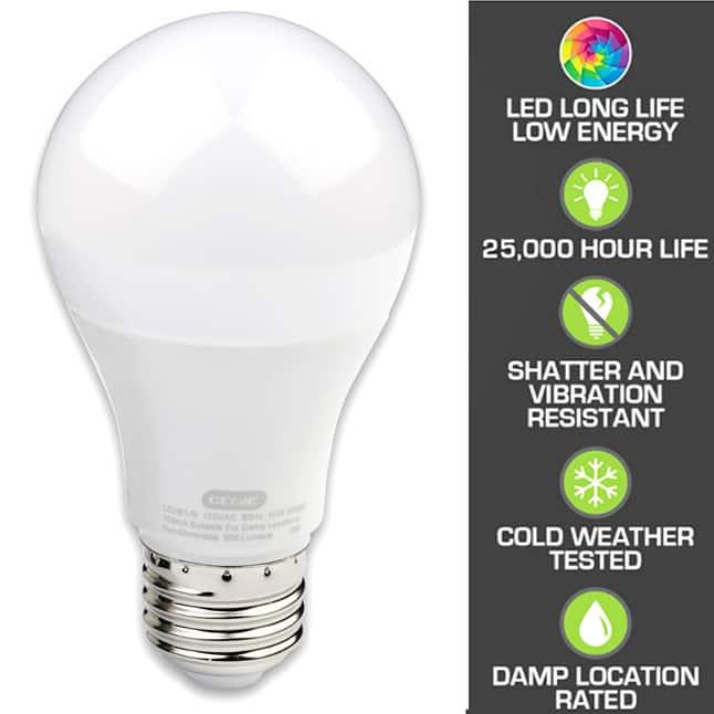 Genie garage door opener LED light bulb 25000 hour life