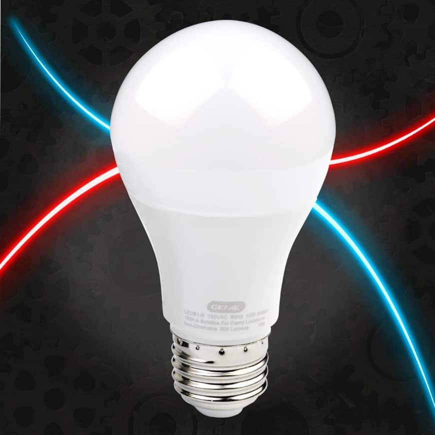 Genie garage door opener LED light bulb single