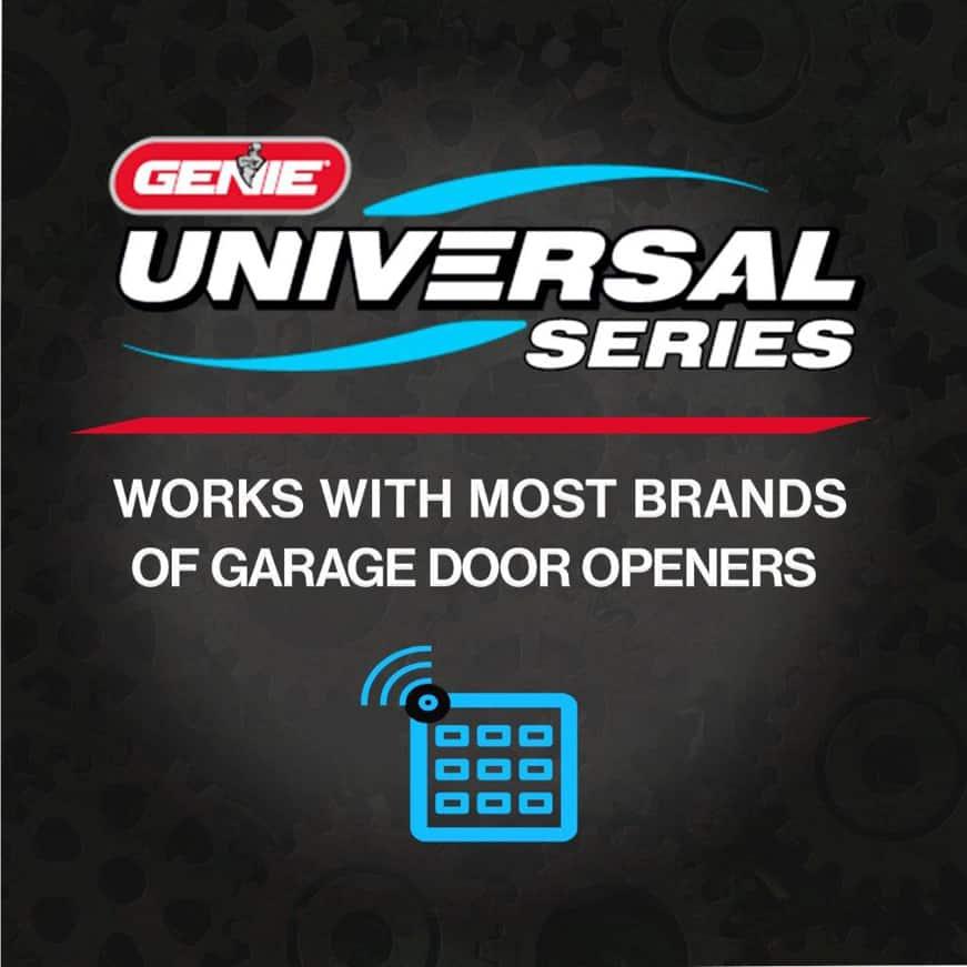 Genie garage door opener LED light bulb universal