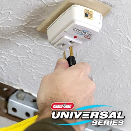 Genie garage door opener LED light bulb surge protector