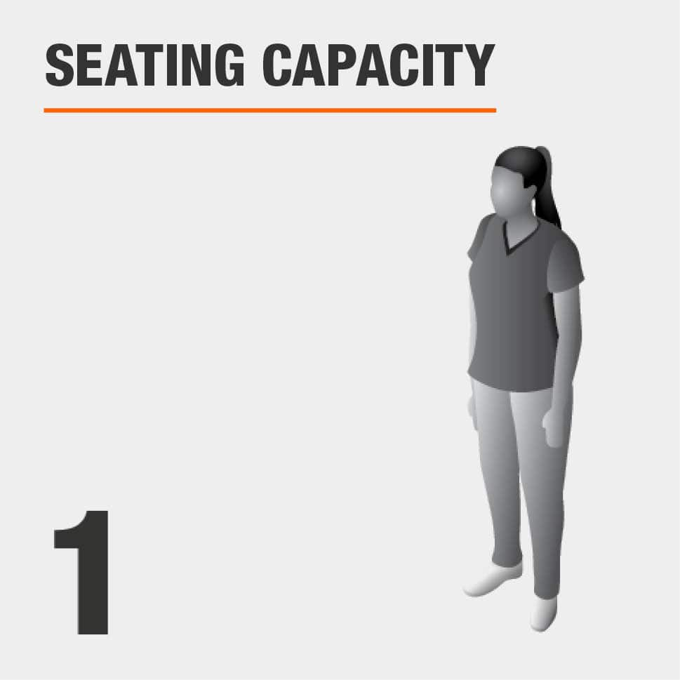 Seating Capacity Seats 1 Person