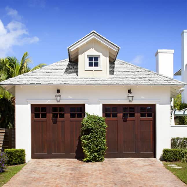 House with gray asphalt shingles