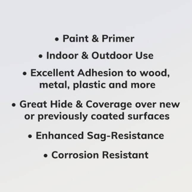 Use on Indoor or outdoor items.  Versatile for many projects.