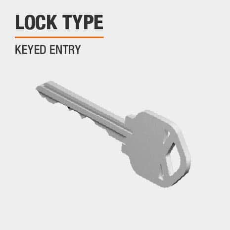 Lock type is keyed entry