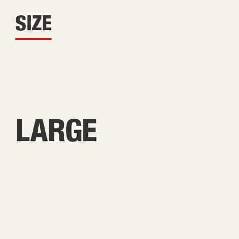 This product's size is Large