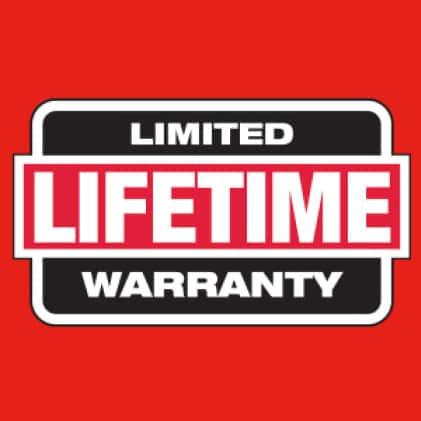 Hi vis safety vest has limited lifetime warranty