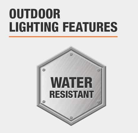 This is a Water Resistant light.