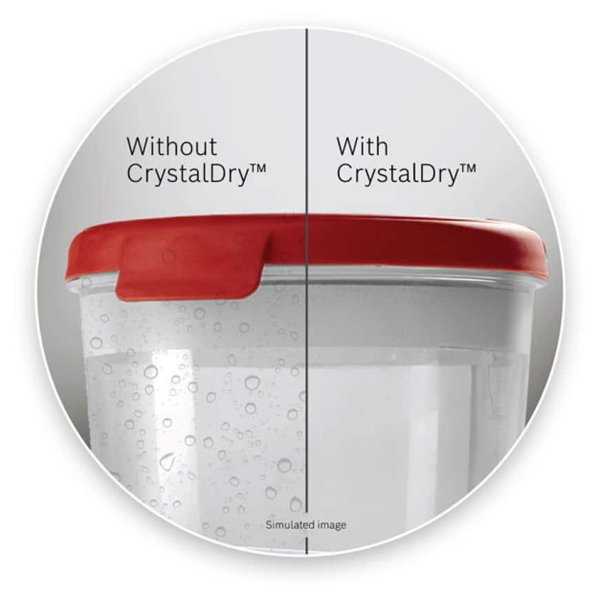 Bosch 800 Series Dishwashers CrystalDry Technology