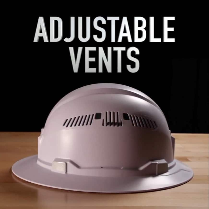 Vented Hard Hats