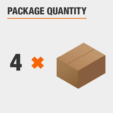 There are 4 lights included in the package.
