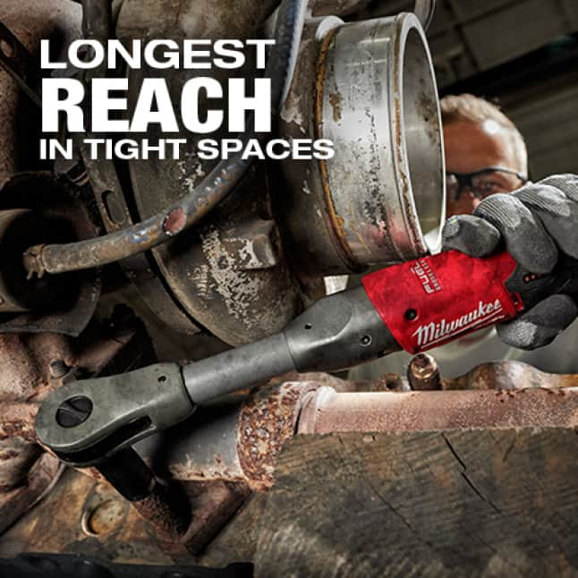 Longest distance from anvil to hand to prevent knuckle busting.